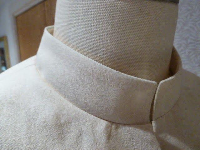 How to draft a mandarin collar