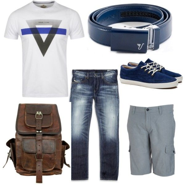 """""""Naval Blue Belt ~back to school!"""" by kristinmadsen on Polyvore"""