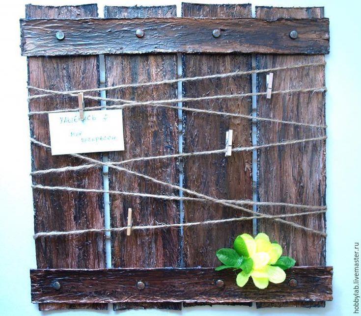 Делаем рамку для записок - Ярмарка Мастеров - ручная работа, handmade