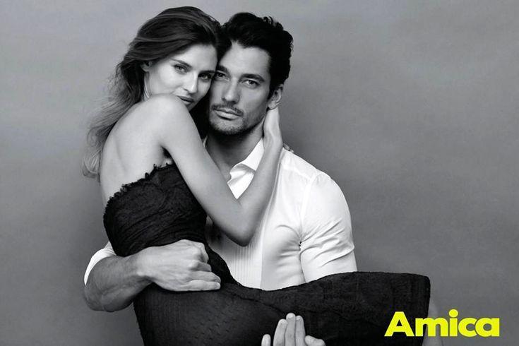 David Gandy & Bianca Balti for Amica Magazine (May 2013) ~ David James Gandy