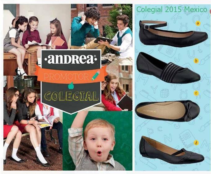 Andrea Promotor Colegial 2015 Catalogo Mexico