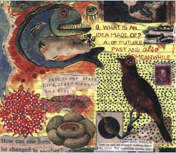 art journal / mail art - lynda barry