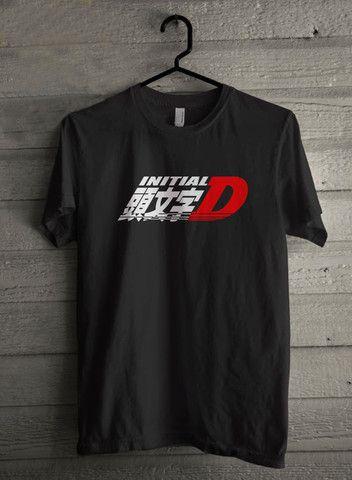 Logo Initial D Anime Manga Drift Race Jdm