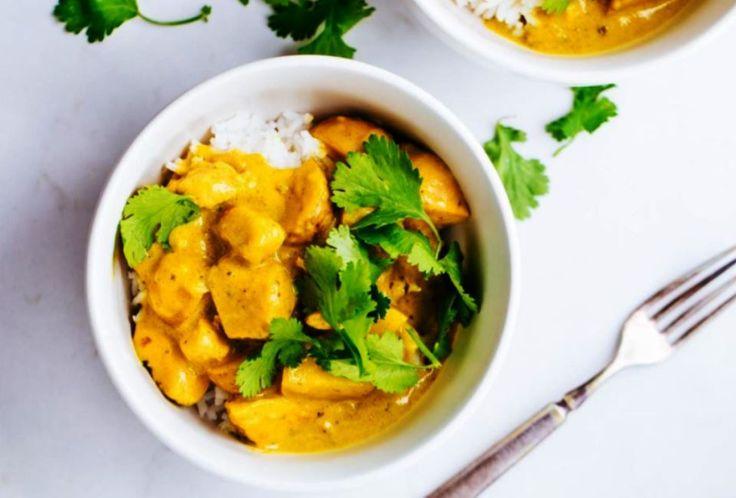 Κοτόπουλο με κάρυ και άγριο ρύζι Ένας απολαυστικός συνδυασμός που θα σας ταξιδέψει!