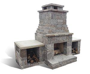The 25+ best Fireplace kits ideas on Pinterest | Outdoor fireplace ...