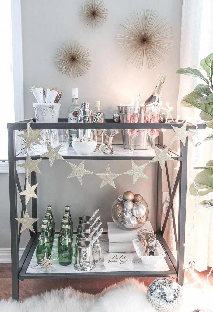 Pin On Bar Cart Decor