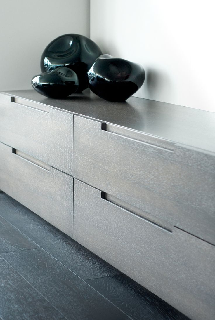 Finger Grips for all wet areas and study   Wellington Place Penthouse II by Croma Design Inc.