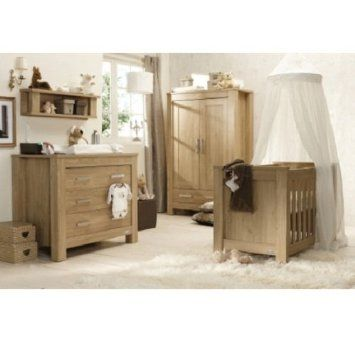Babystyle Bordeaux by Charnwood 4 Piece Nursery Furniture Set