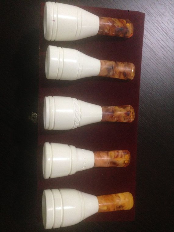 Meerschaum cigar holders mouthpieces set of 5   by PipeforSmoking