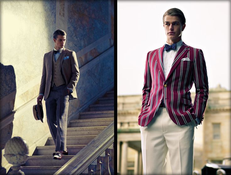 Brooks Brothers: Inspired by the costumes designed by Catherine Martin for Baz Lurhmann's The Great Gatsby.