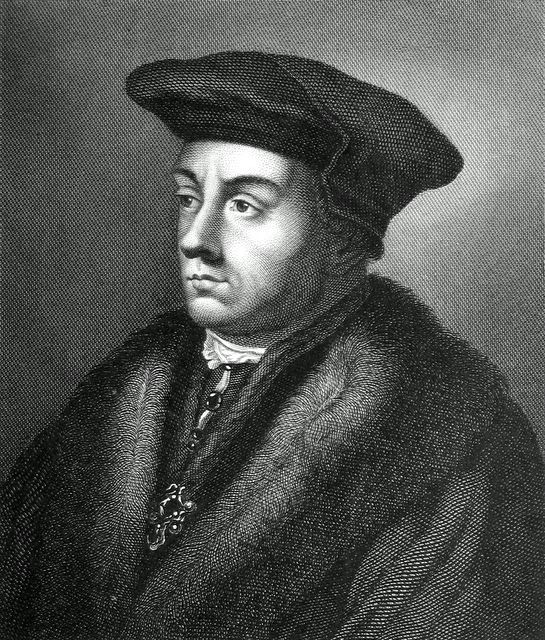 "Another portrait of Thomas Cromwell, who's looking younger and less worried here than in the more well known Holbein portrait (see other pin on this board). Cromwell is the main character in Hillary Mantel's novels ""Wolf Hall"" (which won the coveted Booker prize) and ""Bring Up the Bodies"", both of which are great reads about the intrigues at the court of Henry VIII."