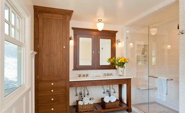 Best 25+ Tall Bathroom Cabinets Ideas On Pinterest