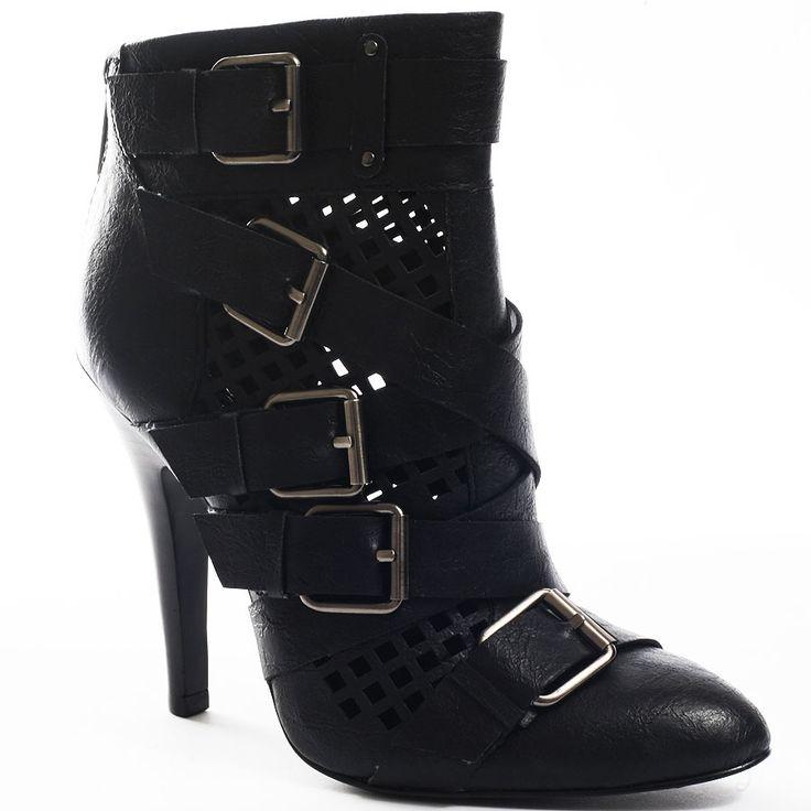 CARLOS by Carlos Santana Womens Havenz Black Washed - Boots