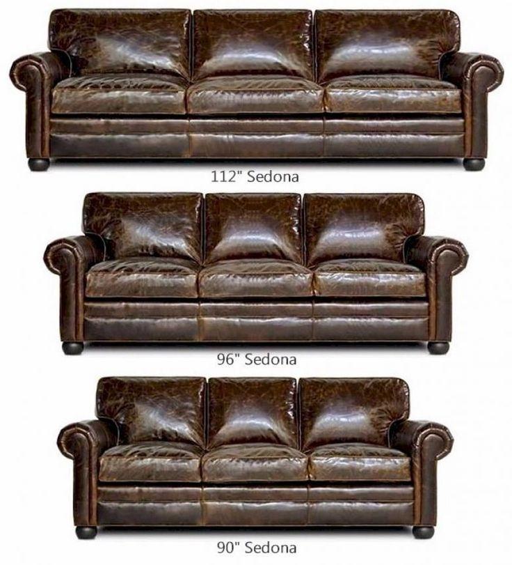 seSedona d(Lancaster) Oversized Leather Sofa Set