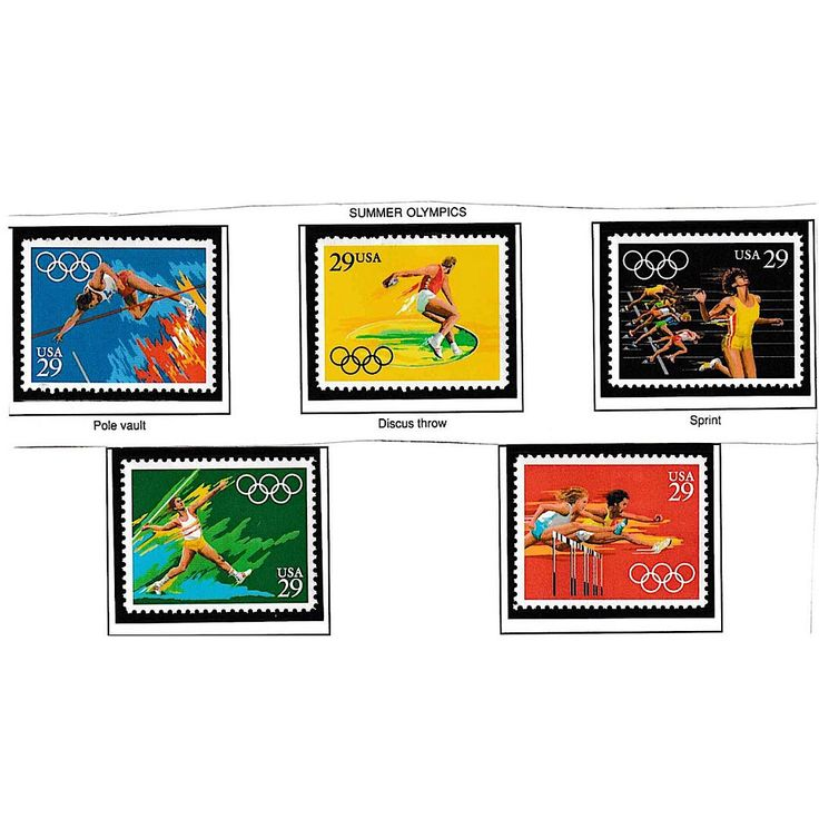 Excited to share the latest addition to my #etsy shop: Postage Stamps, Summer Olympics, Barcelona 1992, Unused Postal Stamps, 29 cent Stamps, Stamps For Art, Stamp Collector, Mail Stamps #vintage #collectibles #birthday #postagestamps #summerolympics #barcelona1992 #unusedpostalstamps