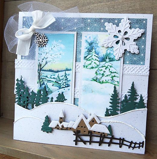 Tiny village card. http://www.mariannedesign.nl/