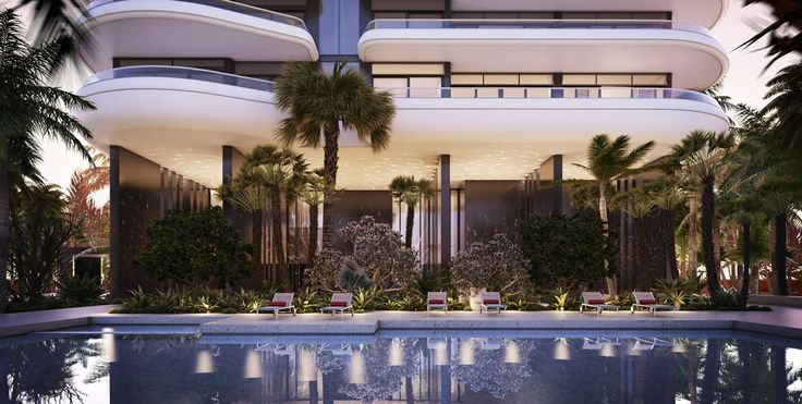 Pool at Faena House Miami Beach