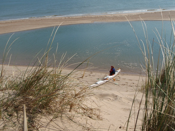 Kayaking around North Norfolk. www.discoverseakayaking.co.uk