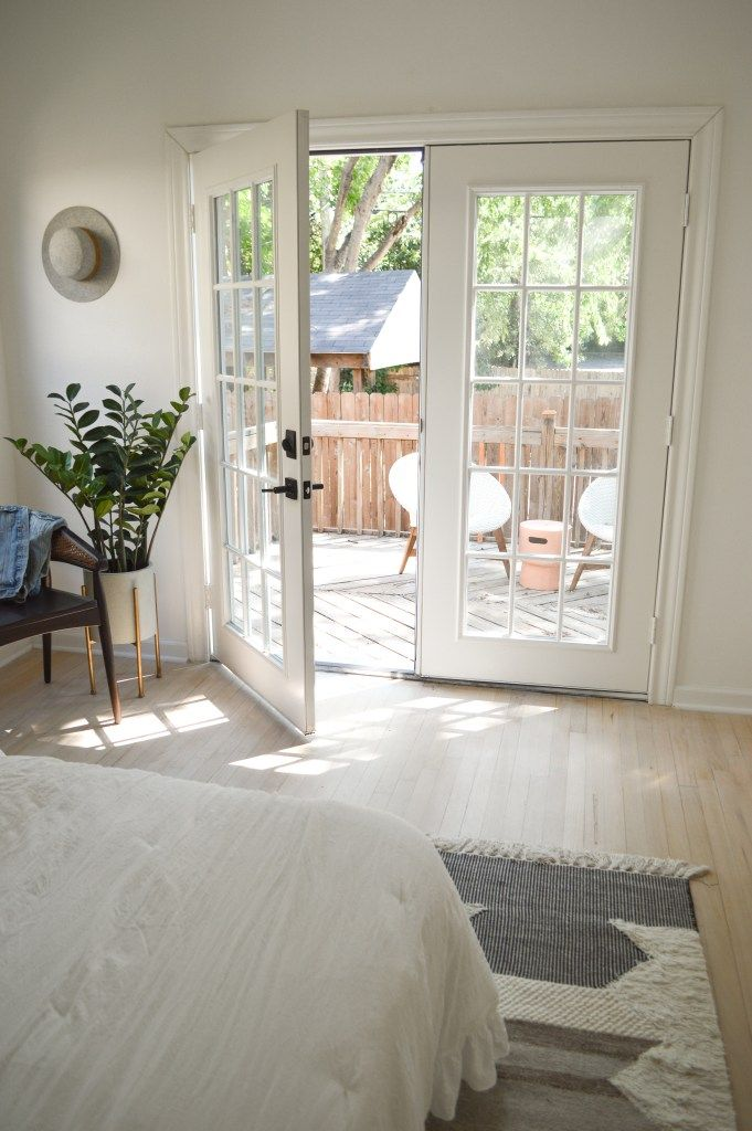 The Byers Project The Final Reveal Master Bedroom Renovation French Doors Exterior French Doors Bedroom