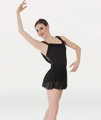 Body Wrappers P1050 Drape Trim Dance Dress