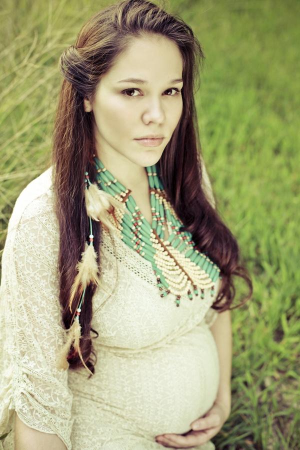 Native American Pregnant 36