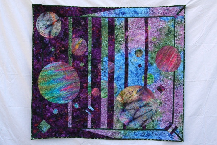 1000 images about convergence quilts on pinterest solar for Solar system quilt pattern