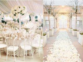 30 White Wedding Ideas That's Turly Timeless