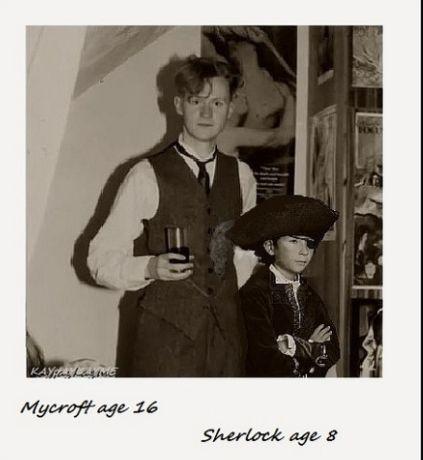 Oh. My. Gosh. So cute... // Mummy Holmes on twitter.