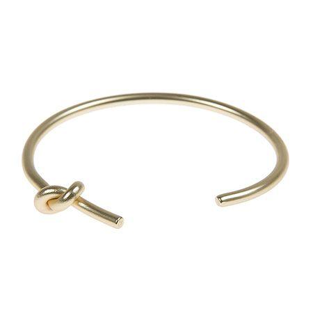 Knot bracelet - gold  #achilleas_accessories #knot_bracelet #cuff #slim #gold #love #friendship #accessories