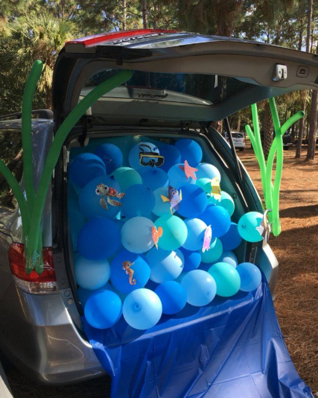 24 best Trunk or treat images on Pinterest Halloween prop - trunk halloween decorating ideas