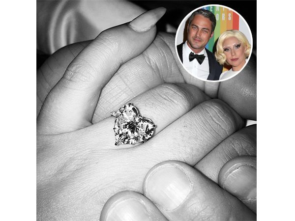 Lady Gaga engagement ring-the man did good. Grats Mother Monster!