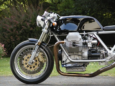 A beautiful Le Mans III cafe racer - clean