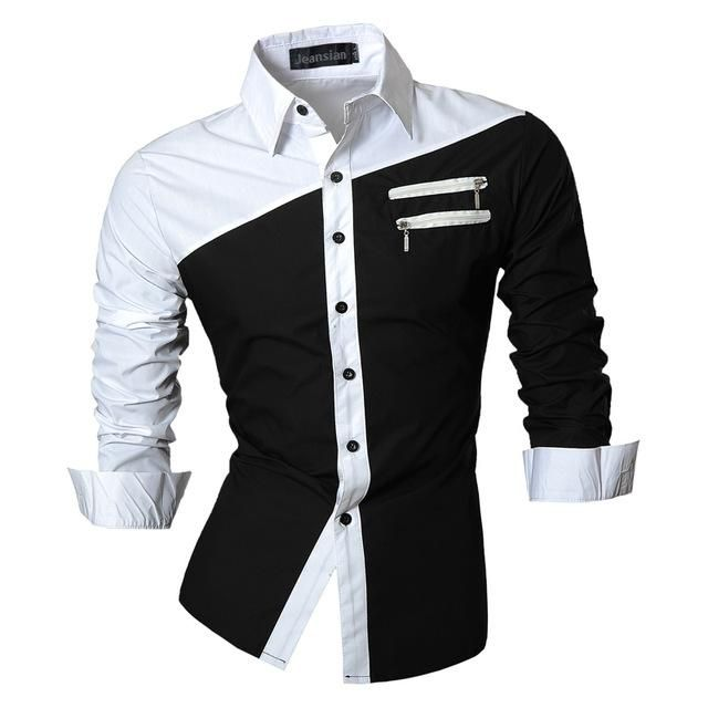 0d6f1e25098 Item Type  Shirts Gender  Men Style  slim fit Sleeve Length(cm)  Full Shirts  Type  Casual Shirts Collar  Turn-down Collar Model Number  Collection  Fabric ...