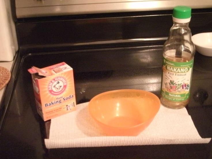 baking soda   vinegar ...