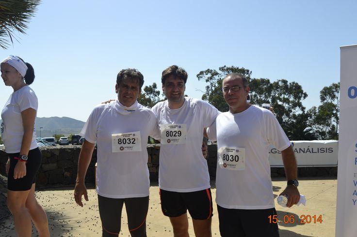 Menudo trío, Eliseo, Fran y Máximo.