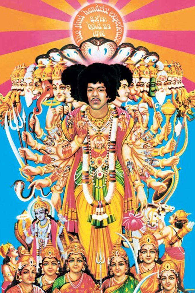 The Jimi Hendrix Experience - Axis: Bold As Love (1967, official poster)