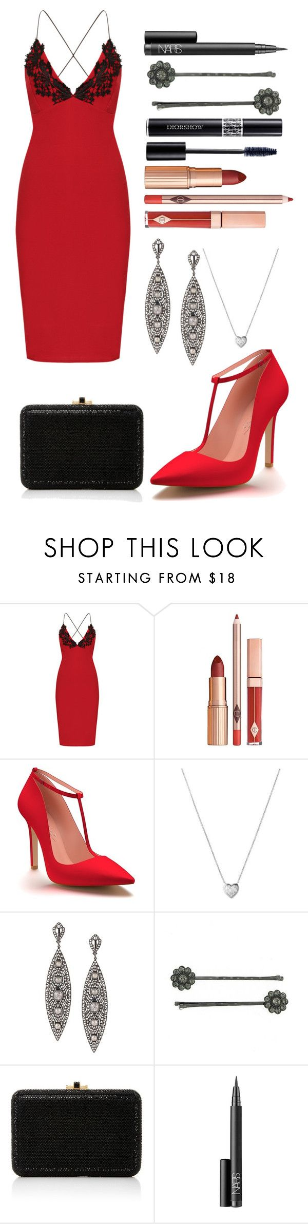 """""""Untitled #1129"""" by amyburns567 ❤ liked on Polyvore featuring WearAll, Shoes of Prey, Links of London, Loree Rodkin, 1928, Judith Leiber, NARS Cosmetics and Christian Dior https://ladieshighheelshoes.blogspot.com/2016/12/where-can-i-buy-trotters-angel-dark.html"""
