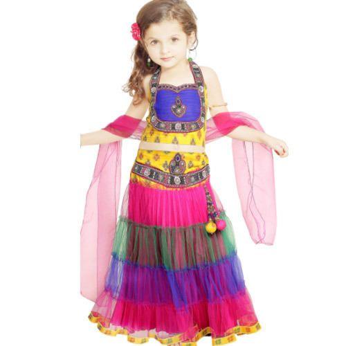 Kids Chaniya Choli - Modern Kids Chaniya Choli Supplier & Manufacturer from Mumbai