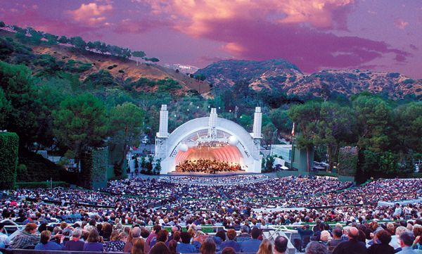 Concert season at The Hollywood Bowl.