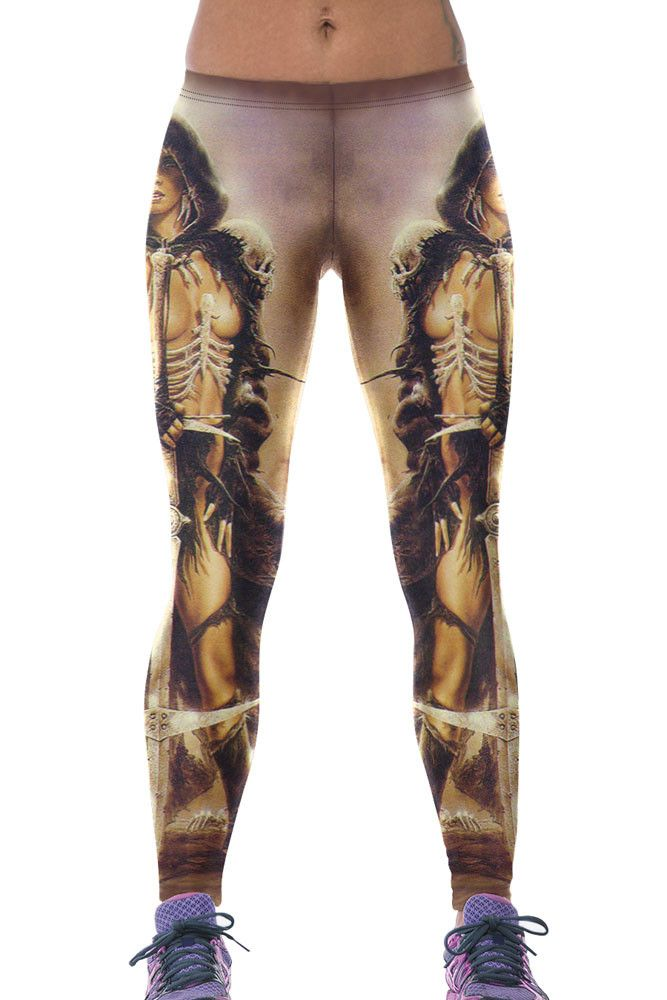 Leggings Barbare Princesse Stretchy Yoga Pas Cher www.modebuy.com @Modebuy #Modebuy #CommeMontre #sexy #me #style