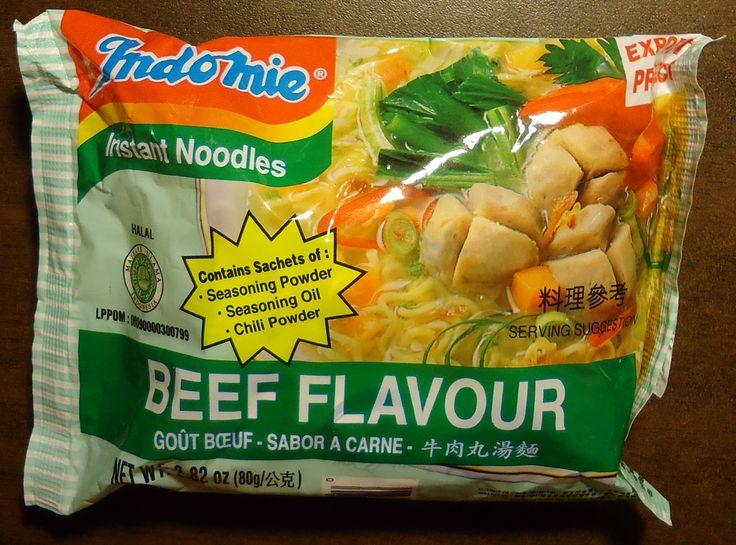 #814: Indomie Beef Flavour Instant Noodles