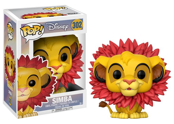 Funko pop. Disney. Lion King. Simba.