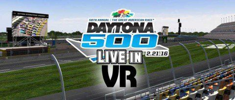 Daytona 500 Will be Broadcast in VR Thanks to NextVR