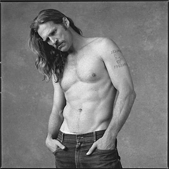 I did not know this photo of him. Jeff Bridges is SEXY on it.   But I like him to be Dude as well. :)