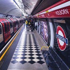 Holborn Tube station.