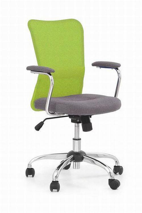 Fotel ANDY jest doskonale dopasowany do naszych potrzeb, ma obszerne, wygodne siedzisko, wyprofilowane oparcie które wspiera plecy i zapewnia wsparcie lędźwiowej części kręgosłupa.