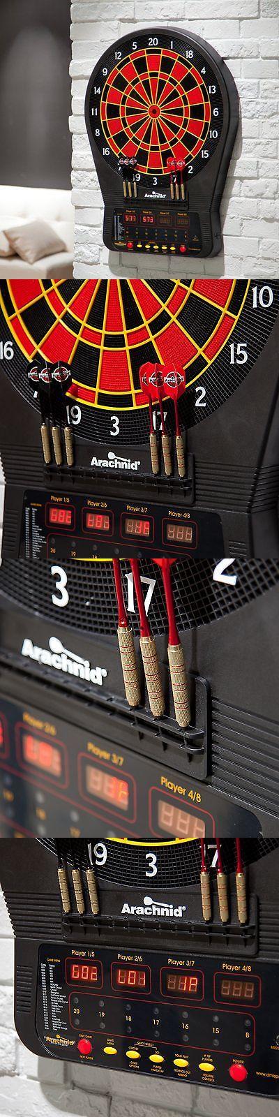 Dart Boards 72576: Arachnid Cricketpro 650 Electronic Dart Board And Darts Set, Black, 1 -> BUY IT NOW ONLY: $144.99 on eBay!