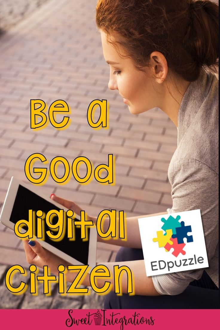 Six technology bloggers are sharing ideas in teaching digital citizenship. You can use EdPuzzle to customize digital citizenship videos for your classroom.