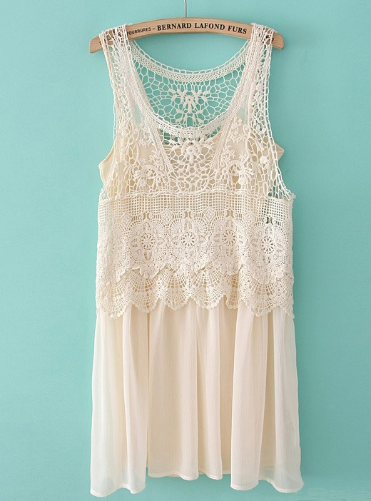Beautiful Lace Tank. Perfect for summer! #summer #lace #tank