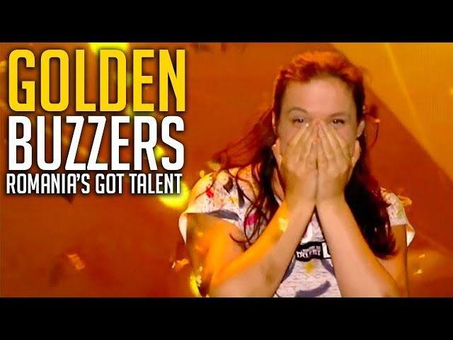 ALL GOLDEN BUZZER Auditions on Romania's Got Talent   Got Talent Global